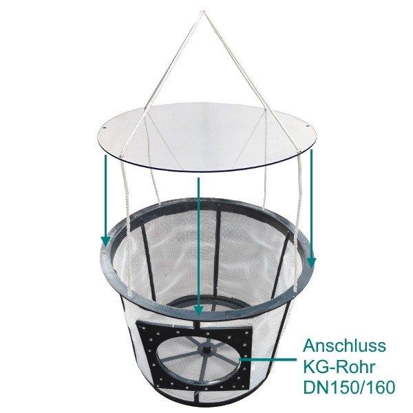 XL Regenwasser-Filter Protect zum Stecken