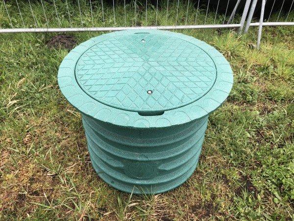 TopCover+Schachtverlängerung 60 cm -grün-