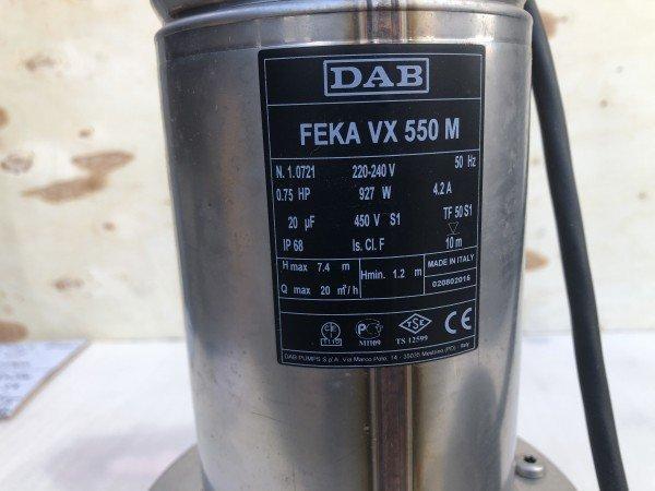 DAB FEKA 550 M