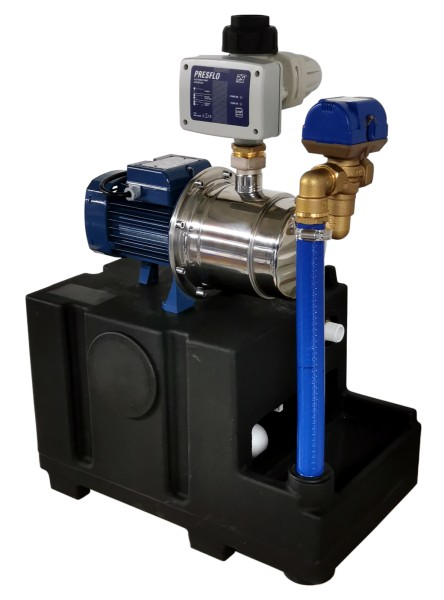 Systemsteuerung für Regenwassernutzungsanlage