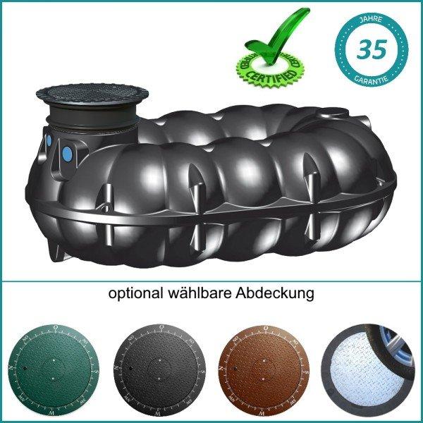 5000 Liter Flachtank NEO für Abwasser und Silage