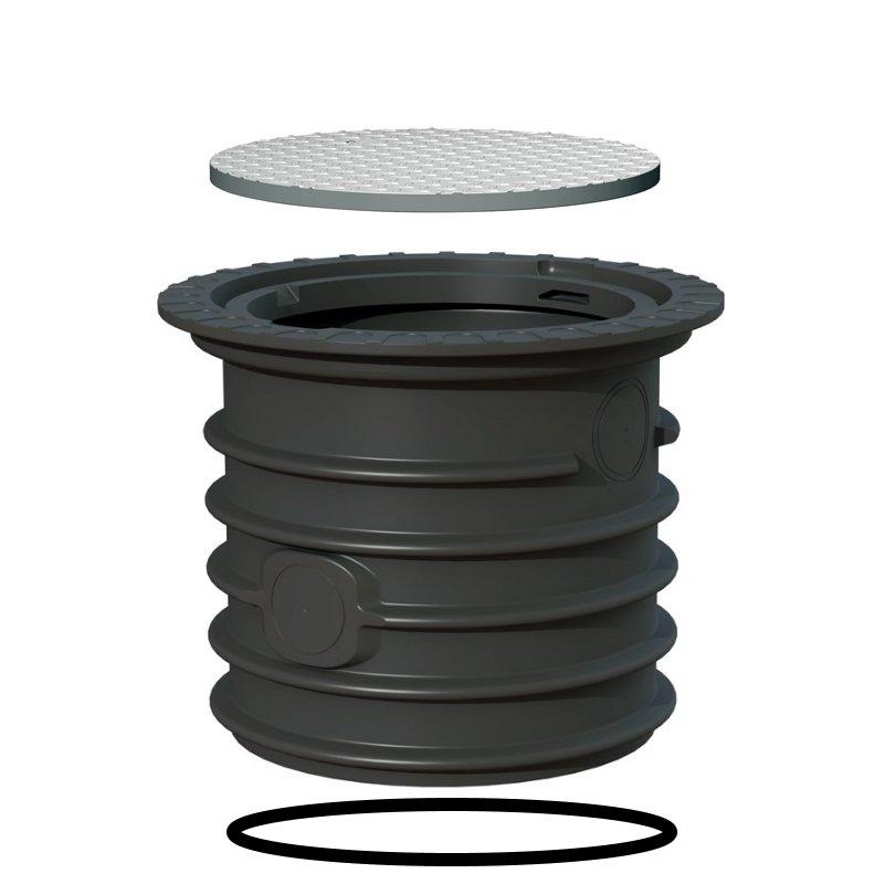 VS60-Stahldeckel