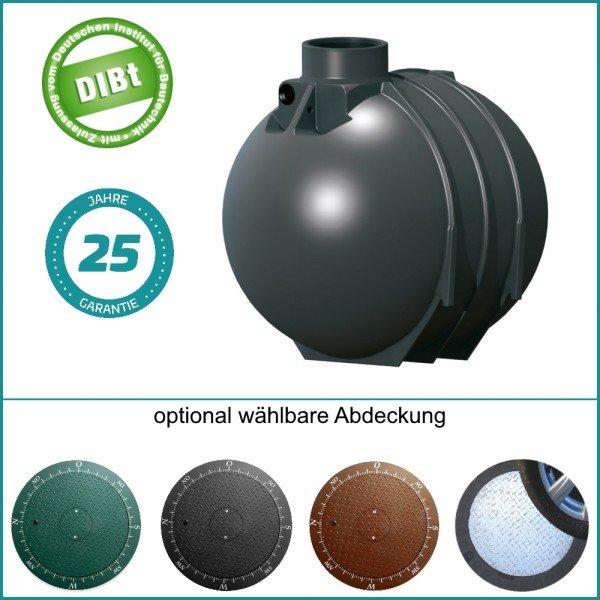 5200 L Abwassersammelgrube mit DIBT